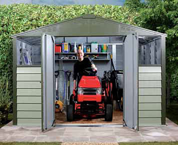 Mk 108 Steel Galvanised Garden Sheds Mk Containers