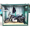 Secure Motorcycle Garage